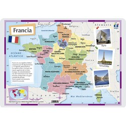 França, Polític, 42 x 30 cm