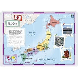 Japón, 42 x 30 cm