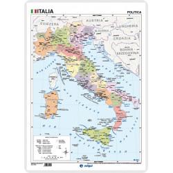Italia, Físico / Político,...