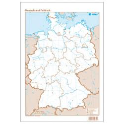 Alemania, Político, 22.5 x...
