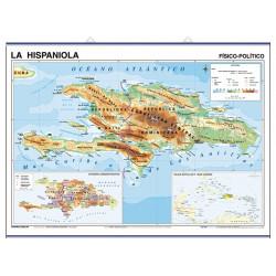 La Hispaniola, Físic-Polític / Amèrica Central i el Carib, Polític