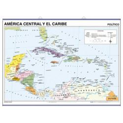 La Hispaniola, Physique-Politique / Amérique Centrale et Antilles, Pol.