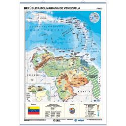 Murales - República Bolivariana de Venezuela, físico / político