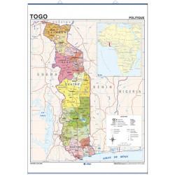 Togo, Físico / Político,...