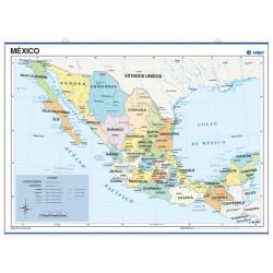 Mexico, Political, 70 x 50...
