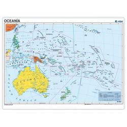 Oceania, Political, 70 x 50...