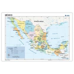 Mèxic, Polític, 70 x 50 cm,...