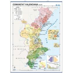 Comunitat Valenciana, Físic...