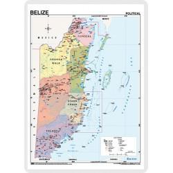 Belize, Físic / Polític, 70...