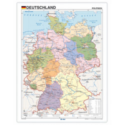 Germany, Political, 70 x 50...