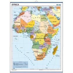 Mini-mural - África, político