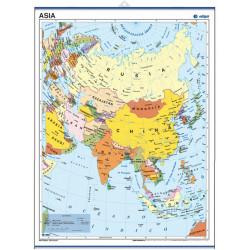 Mini-mural - Asia, político