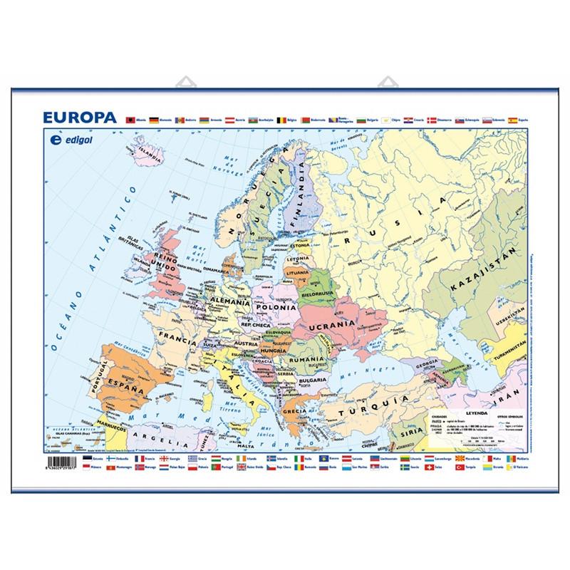 Mini-mural - Europa, político