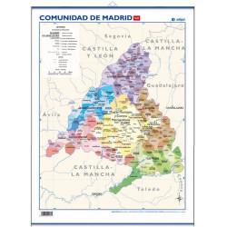 Mini-mural - Comunidad de Madrid, político