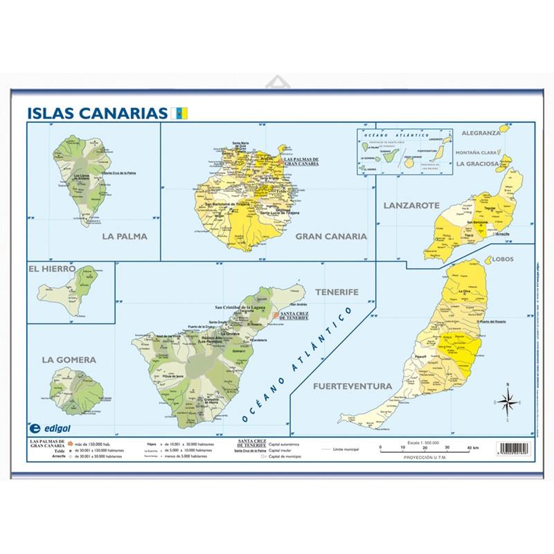 Mini-mural - Canarias, político
