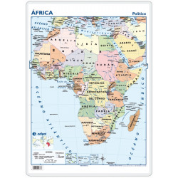 Escritorio - África, político / físico